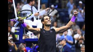 Rafael Nadal vs Matteo Berrettini   US Open 2019 Semi-Final Highlights