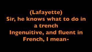 Hamilton -Guns and Ships- Lyrics