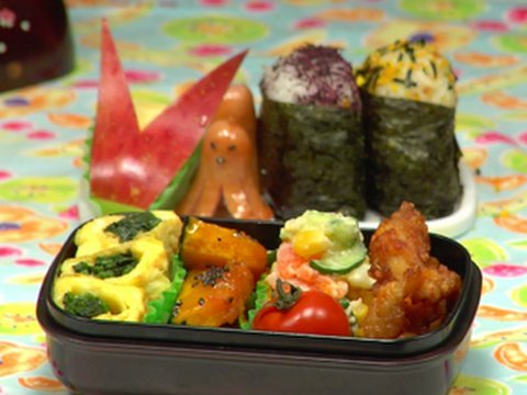 How to Make Bento (Perfectly Balanced Bento Recipe for Lunch Box Meal)   Cooking with Dog
