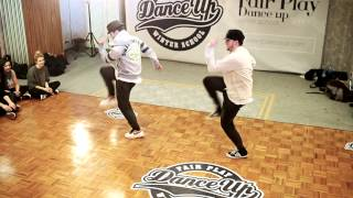 EZtwins   Fair Play Dance Up winter school 2014   Warsaw, Poland