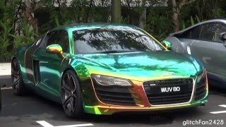 Audi R8 V8 w/ Epic Chameleon Wrap - Quick Look