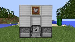 Minecraft: Hướng dẫn làm Máy Mặc Đồ Tự Động