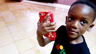 Super Siah Gets His First IPhone