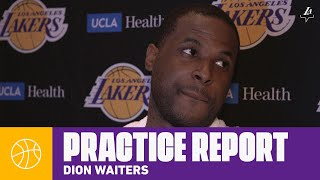 Dion Waiters talks about being ready to help the team in any situation | Lakers Practice