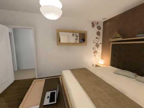 visite virtuelle 3d chambre adulte youtube. Black Bedroom Furniture Sets. Home Design Ideas