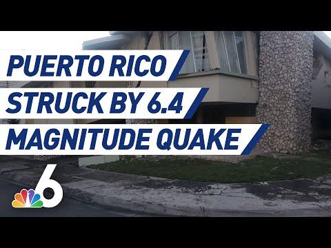 6.4 Earthquake Hits Puerto Rico Amid Heavy Seismic Activity | NBC 6