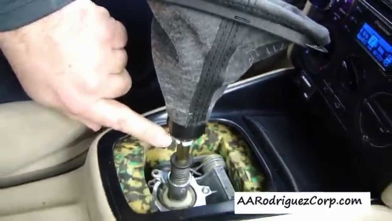 Diy How To Replace A Vw Mk4 Shift Boot And Knob Youtube