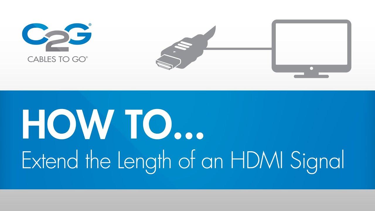 HDMI Inline Extender | C2G