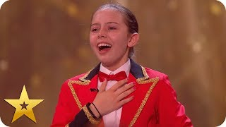 Awesome Alexa gets Ant & Dec's Golden Buzzer! | BGT: The Champions