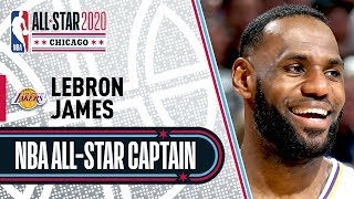 LeBron James 2020 All-Star Captain | 2019-20 NBA Season