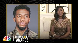 Chadwick Boseman: Best Actor in a Motion Picture, Drama - 2021 Golden Globes