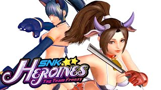 SNK Heroines: Tag Team Frenzy - Official Japanese Trailer