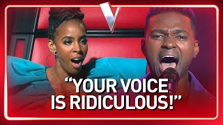 Singer hits HIGH NOTES you've never heard before | The Voice Journey #96