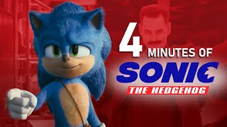 4 Minutes of the Sonic The Hedgehog Movie