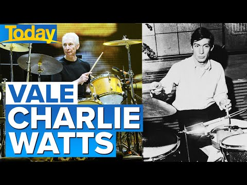 Rolling Stones drummer Charlie Watts dies at 80 | Today Show Australia