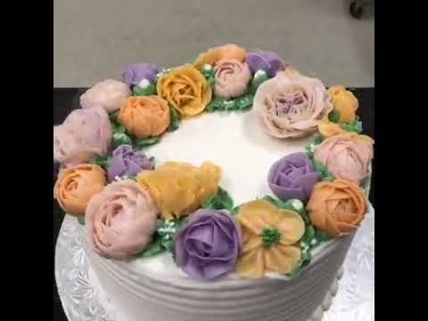 Buttercream Cakes by A Little Cake