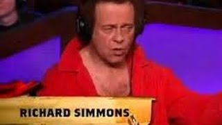 Howard Stern Richard Simmons Leaves Crying