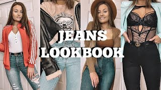 JEANS LOOKBOOK | How To Style Jeans