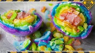 Rainbow Ice Cubes