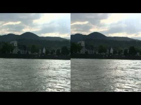 3D HD Rhine River Germany