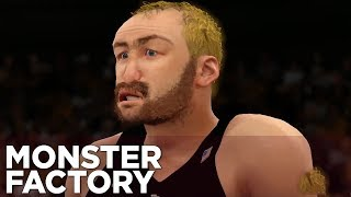 Monster Factory: Stang Is Totally Not Sting Trying To Play Basketball