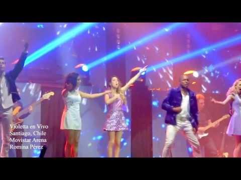 Baixar Ser mejor Violetta en Vivo - Chile 2013