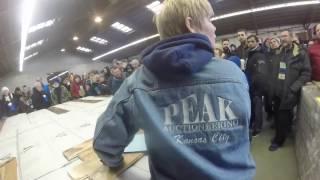 Hardwood Flooring for sale at Peak Building Material Auction