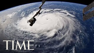 Incredible Images Of Hurricane Florence Captured From The International Space Station | TIME