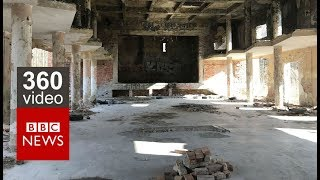In 360 video: An abandoned Soviet military base in western Hungary - BBC News