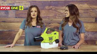 Video: 18V ONE+™ ½ Gallon Chemical Fogger/Mister WITH 2AH BATTERY & CHARGER