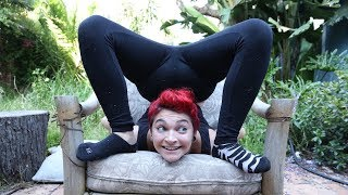 Chronic Illness Makes Woman Amazing Contortionist | BORN DIFFERENT