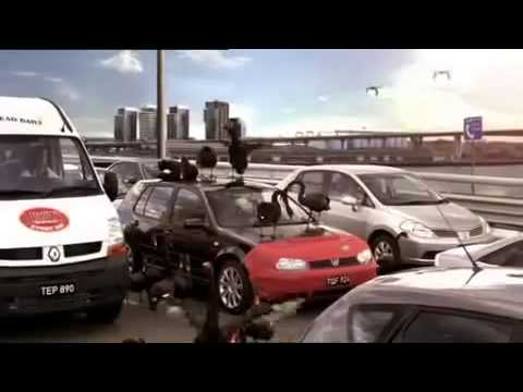 AAMI Swans TV Brand Ad, Car Insurance 2