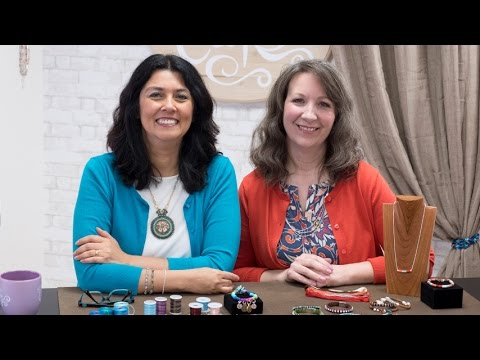 Artbeads Cafe - Thread Wrapping with Cynthia Kimura and Cheri Carlson