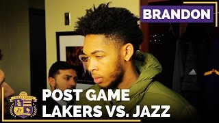 Brandon Ingram Starts At Point Guard For The Lakers