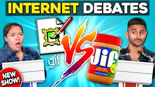Gif Vs. Jif   Settling The Internet's Biggest Debates