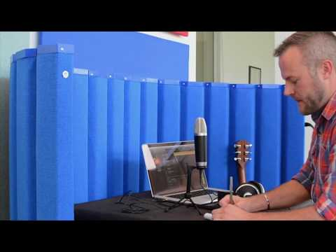 VersiPanel Jr Acoustical Partition Wall Demonstration