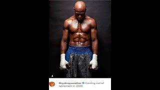 FLOYD MAYWEATHER  COMING OUT OF RETIREMENT 2020,LOOK AT THAT HIS GARAGE