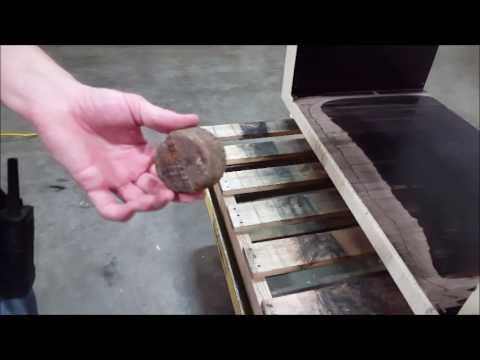 Used Mesutronic Bunting Magnetics Closed Tunnel Metal Detector 5.0 C
