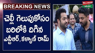 Jr NTR, Kalyan Ram To Campaign For Their Sister Suhasini!..