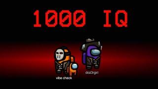 Among Us - 1000 IQ Impostor Moments
