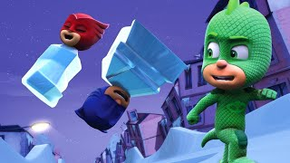 PJ Masks Full Episodes - GEKKO'S NICE ICE PLAN - 1 Hour Christmas Special