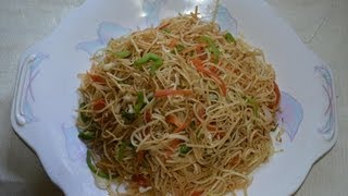 Vegetable Chowmein ( Hakka Noodles) recipe by chef Shaheen