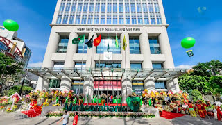Vietcombank Tower HCMC  2015 - (Time-lapse & Flycam)
