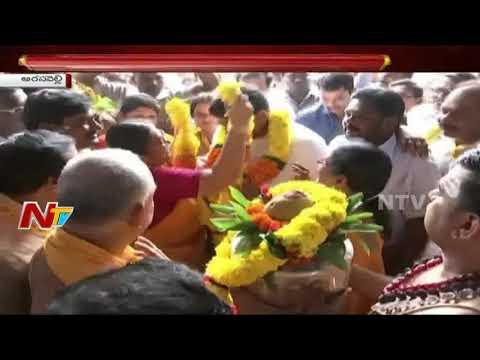 Minister Lokesh Visits Arasavalli Suryanarayana Temple : Srikakulam