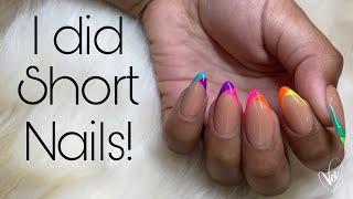 Beginner Nail tech | Short Nails | Easy Nail Art Tutorial