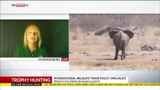 Trophy hunting in Namibia