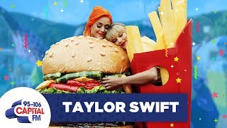 Taylor Swift Ends Her Feud With Katy Perry 🍟 | FULL INTERVIEW | Capital