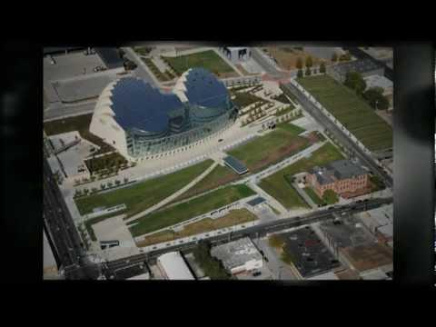 Kauffman Center Geofoam Green Roof