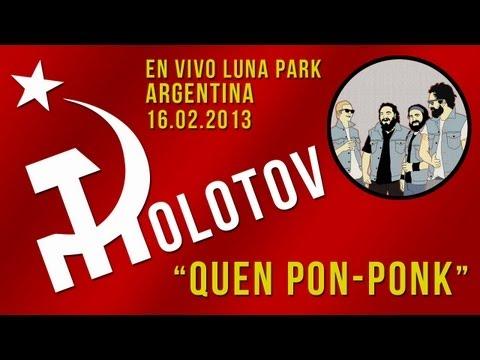 Molotov - Quen Pon-Ponk HD Stereo [Argentina En Vivo Luna Park 16.02.2013]