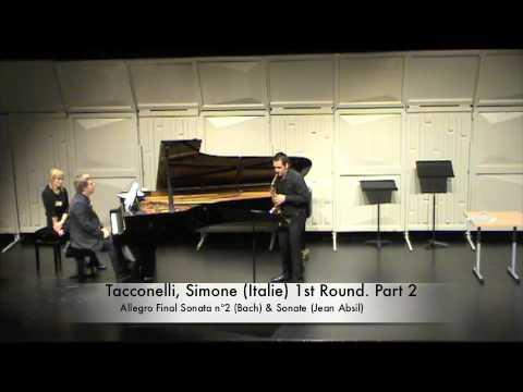 Tacconelli, Simone Italie 1st Round Part 2